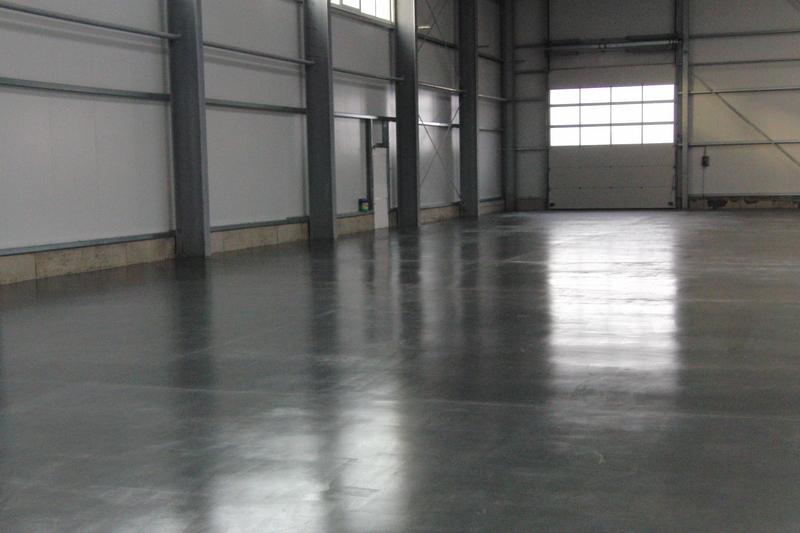 бетонные полы на складе
