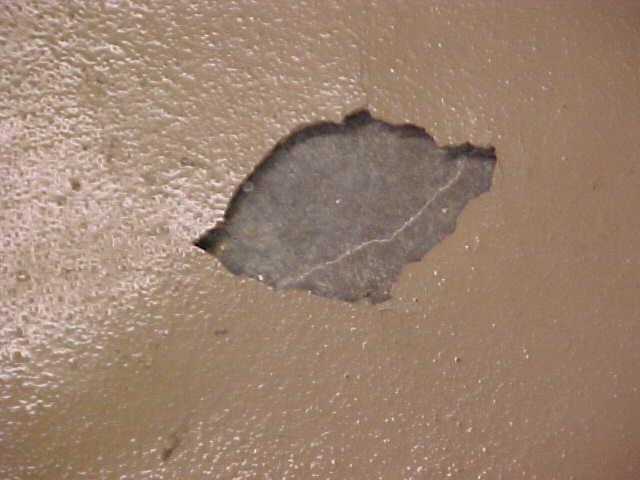 отслоения бетонного пола