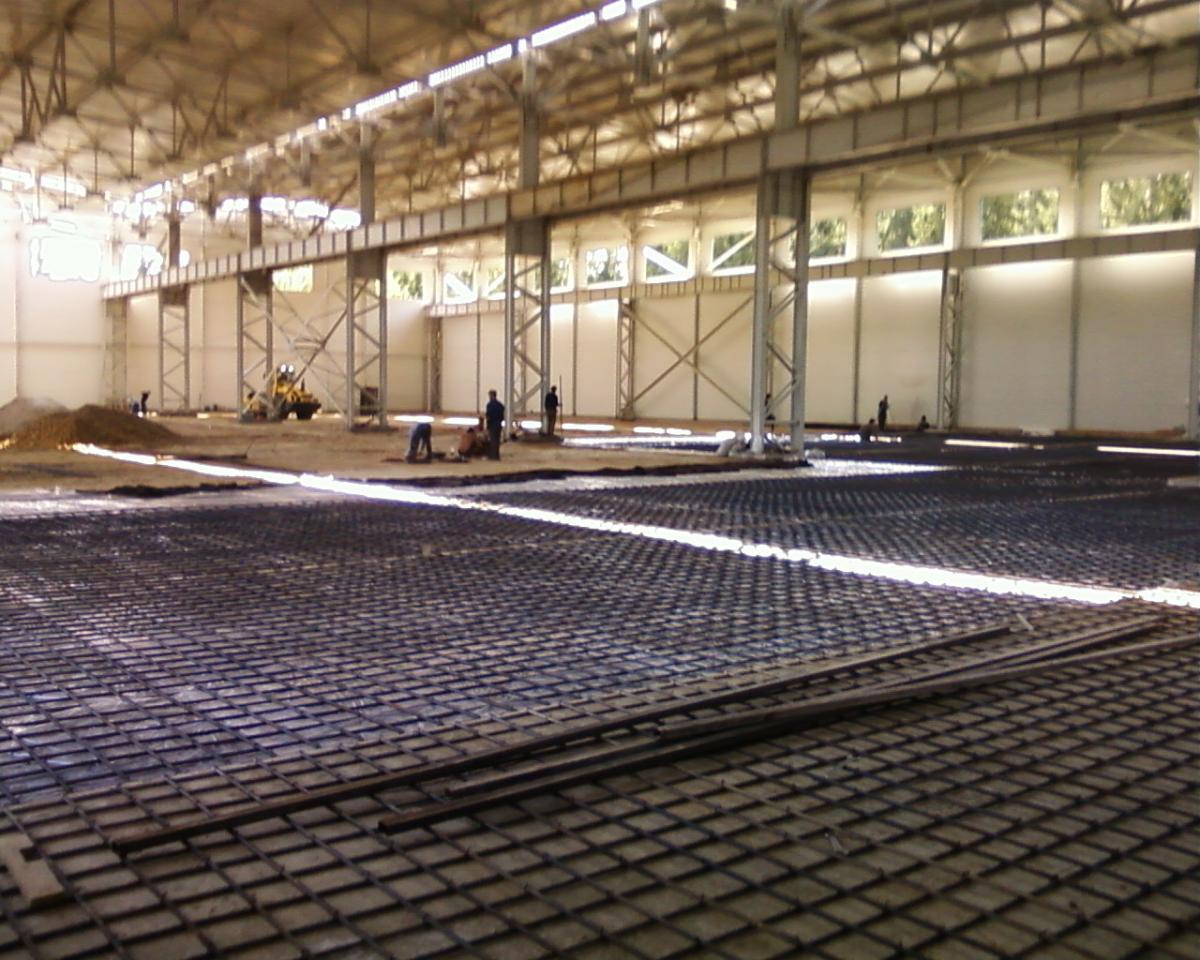 бетонные полы для предприятий