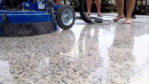 Полы из полированного бетона