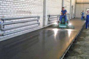 Промышленные бетонные полы технология