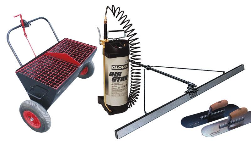 инструменты для устройства полов