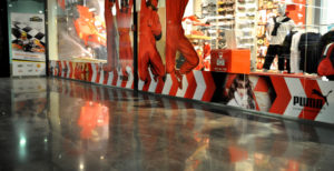 пол торгового центра