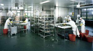пол цеха пищевой промышленности